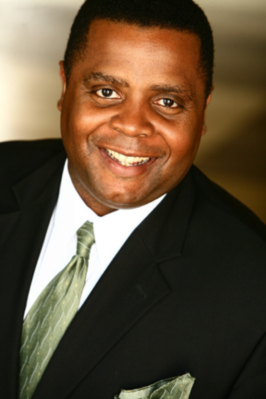 Before Jay Jackson played Perd Hapley on NBC's <em>Parks and Recreation</em>, he was a real reporter at KCAL9 News in Los Angeles.