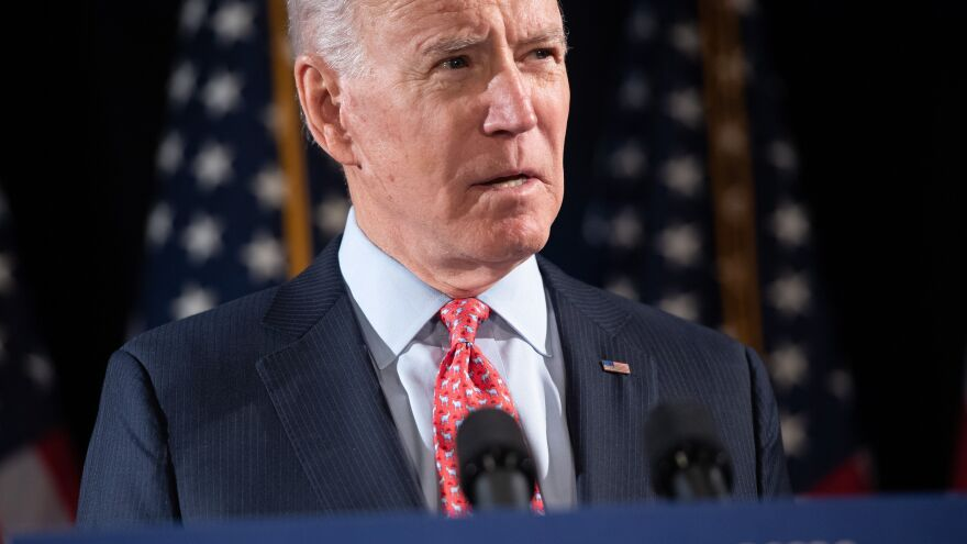 Former Vice President and presumptive Democratic presidential nominee Joe Biden