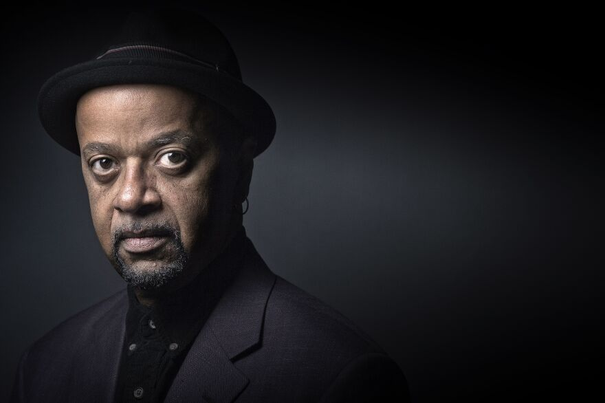 "James McBride is also the author of <a href=""https://www.npr.org/templates/story/story.php?storyId=1031362"">The Color of Water</a><em> </em>and won the National Book Award for Fiction for <a href=""https://www.npr.org/2013/08/17/212588754/good-lord-bird-gives-abolitionist-heroes-novel-treatment"">The Good Lord Bird</a><em>. </em>He's shown above<em> </em>in Paris on Sept. 23, 2015."