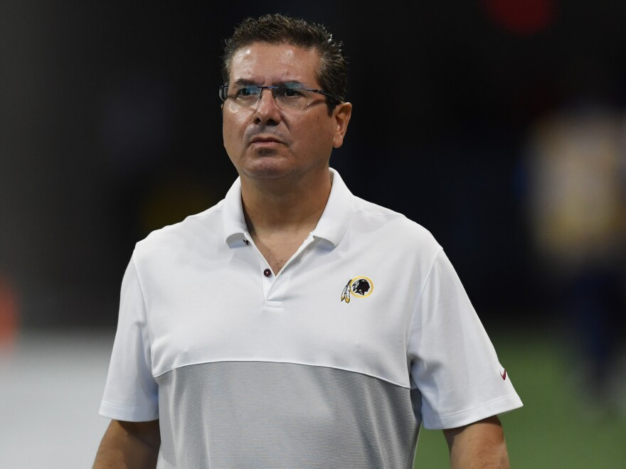 "After a <em>Washington Post </em>story reporting multiple instances of sexual harassment against female employees, the Washington NFL team's owner Dan Snyder said the alleged behavior had ""no place in our franchise or society,"" and hired  independent investigators to look at the allegations."