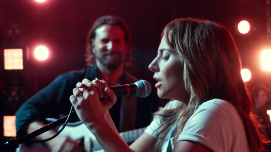 "<em>A Star Is Born</em> has received eight nominations at the upcoming Academy Awards, including in the category of best original song for ""Shallow."""
