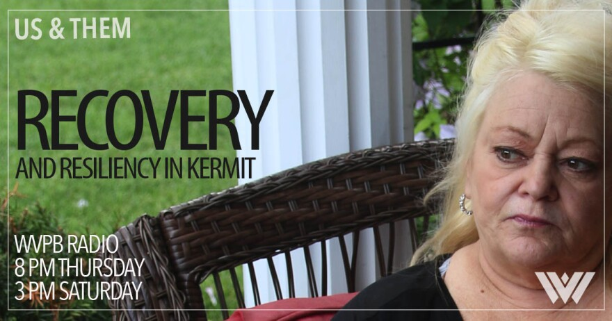 A graphic of Debbie Preece of Kermit, W.Va., lost two brothers to the opioid epidemic.
