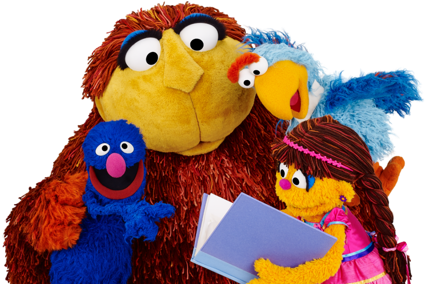Gargur, No'maan, Melsoon and Shams — four of the Muppet stars of <em>Iftah Ya Simsim</em>, the first Arabic-language version of Sesame Street. The show went off the air 25 years ago, and other Arabic-language <em>Sesame Street </em>spinoffs have launched since — but now, the original is debuting again.