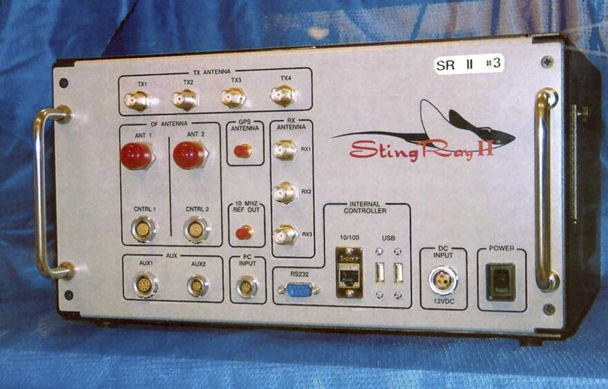 "The Department of Homeland Security detected ""anomalous activity"" consistent with cellular site simulators such as the StingRay II."