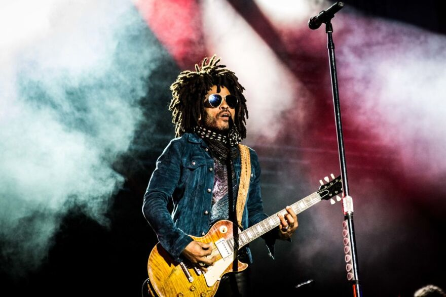Lenny Kravitz performing live at Arena in Verona, Italy. (Roberto Finizio/NurPhoto via Getty Images)