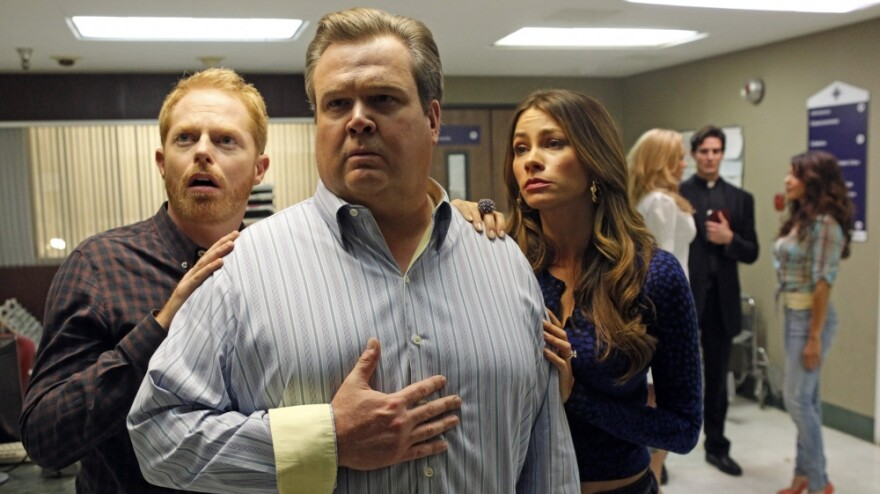 The hit TV show <em>Modern Family</em> features a gay couple trying to adopt their second child.