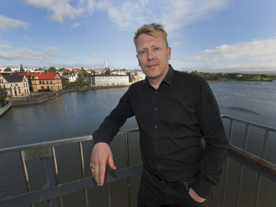 Jon Gnarr, photographed in 2010.