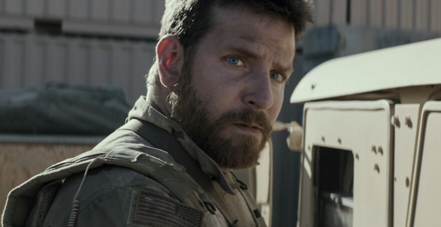 """Bradley Cooper gained 40 pounds of muscle to play Navy SEAL Chris Kyle in the film <em>American Sniper.</em> """"It wasn't at all like a costume,"""" he said. """"It was like ... this sort of transformative experience to me because there was no going home from it."""""""