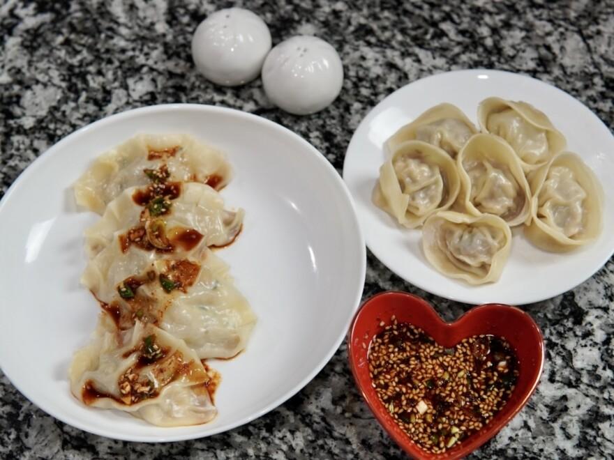 <em>Mandus</em> (Korean dumplings)