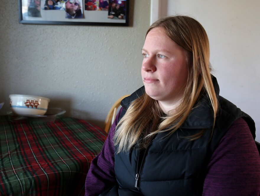 "In a second round of treatment after a miscarriage, Allison Wray, who lives in Vancouver, Wash., got mifepristone. She says it was ""a relieving experience."""