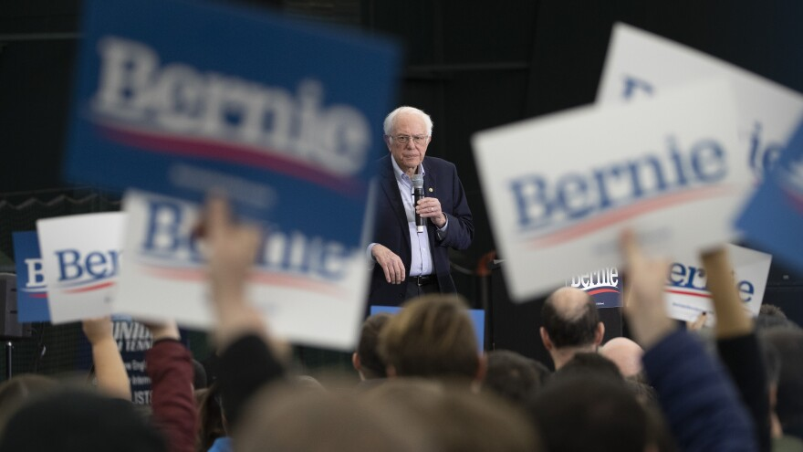 After big Democratic primary losses, Bernie Sanders listed issues he'd like Joe Biden to address at their one-on-one debate on Sunday.