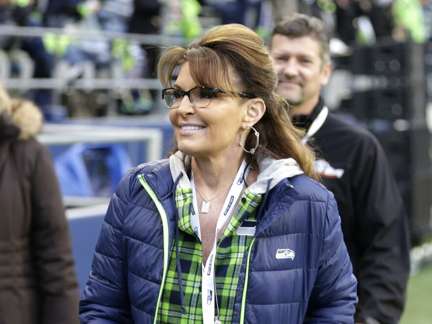 Sarah Palin, political commentator and former governor of Alaska, has accused <em>The New York Times</em> of slander over an editorial tying her to a 2011 mass shooting in Tucson, Ariz.