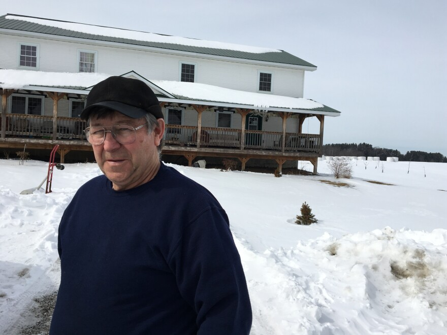 Low milk prices forced Vermont dairy farmer Jacques Rainville out of business.