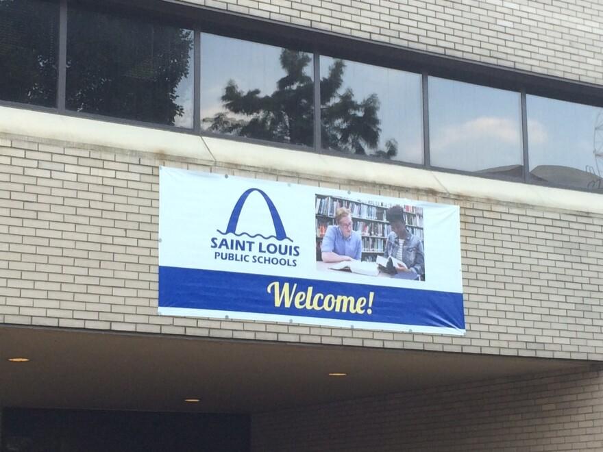 The downtown headquarters building for the St. Louis Public Schools