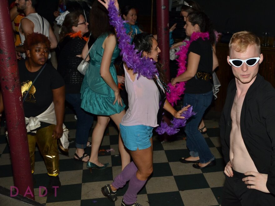 """Don't Ask Don't Tell"" dance night at Great Scott."