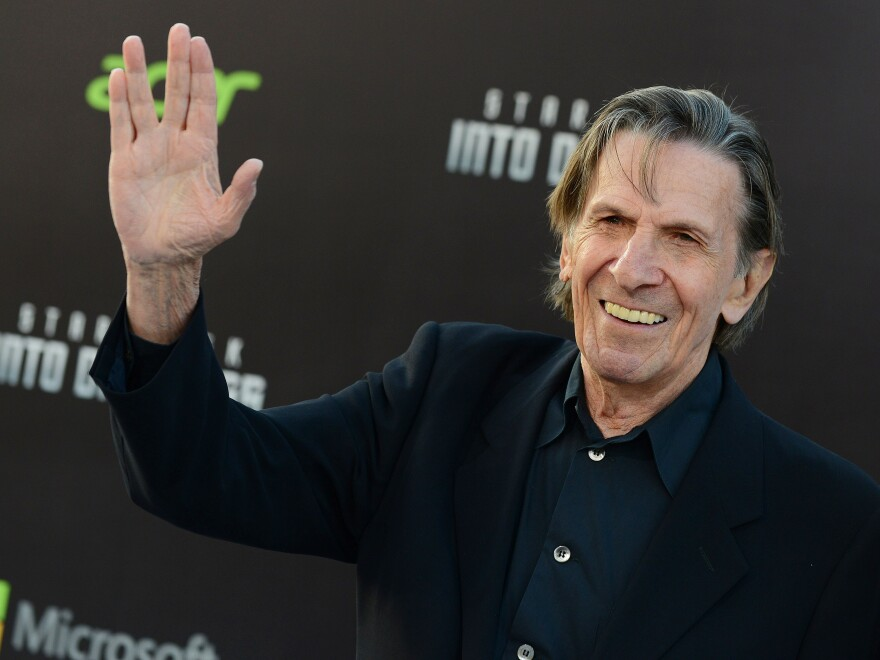 """Leonard Nimoy said that Mr. Spock was """"an alien everywhere he went."""""""