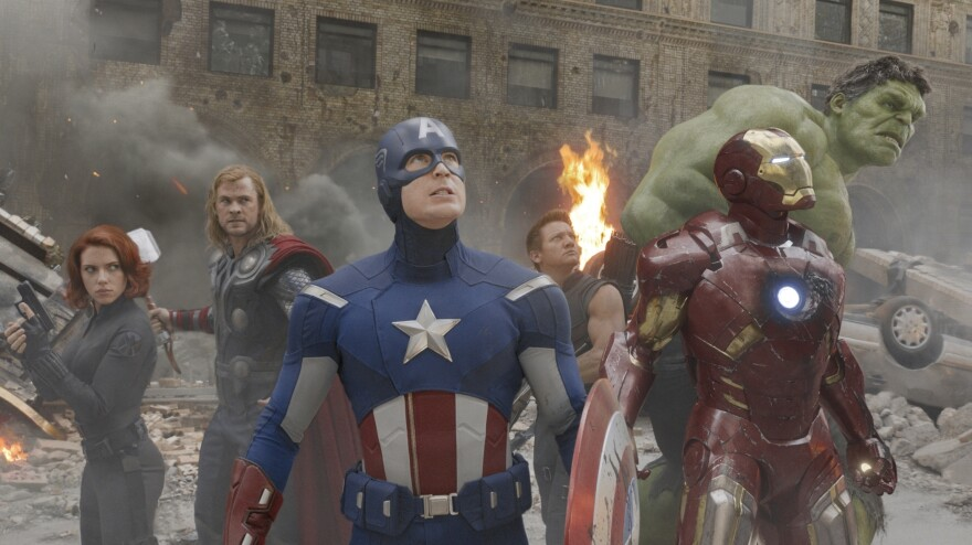 <em>The Avengers</em> has brought in more money than any other movie this year — upwards of $600,000,000 domestically. Based on characters in Marvel comics, <em>The Avengers</em> was released on DVD on Tuesday.