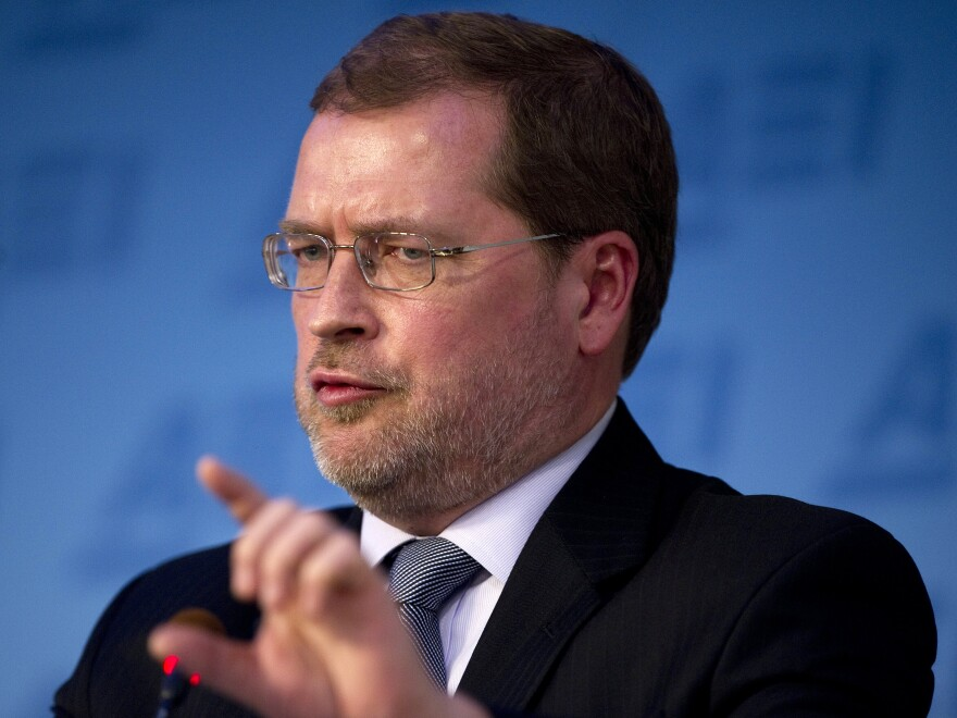 Grover Norquist, founder of Americans for Tax Reform and the man behind the pledge.