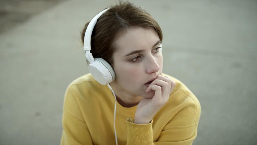 Emma Roberts in James Franco's <em>Palo Alto</em>.