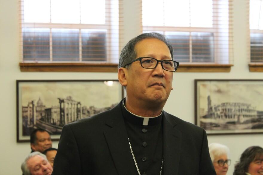 Image of Bishop Solis.