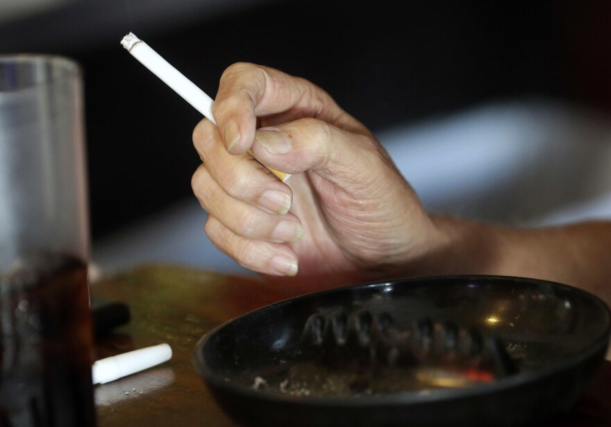 Cigarette smoking continues to decline as taxes on tobacco rise.