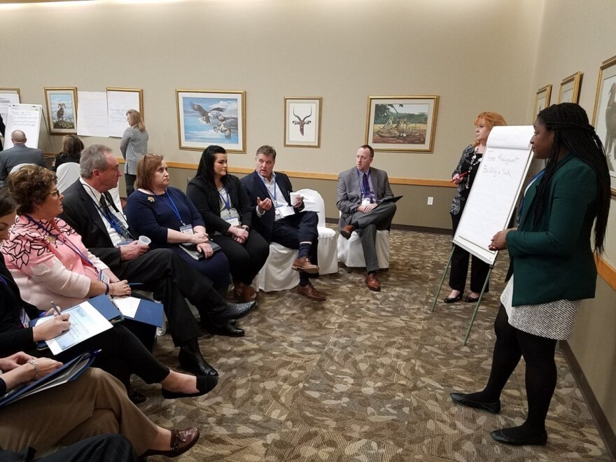 The Appalachian Regional Commission held six recovery-to-work listening sessions throughout the region, including this session in March in Pineville, Kentucky.