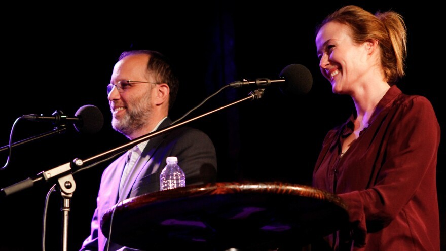 Ira Sachs and Jennifer Ehle on Ask Me Another.