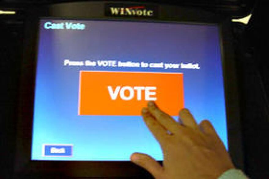 Touch Screen Voting System Has Interactive Features For Voters With Disabilities