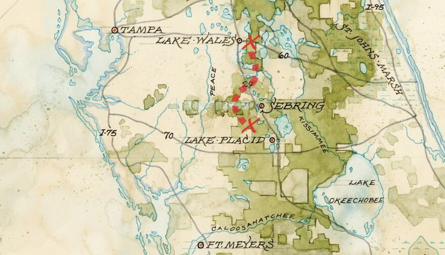 Wildlife Corridor map