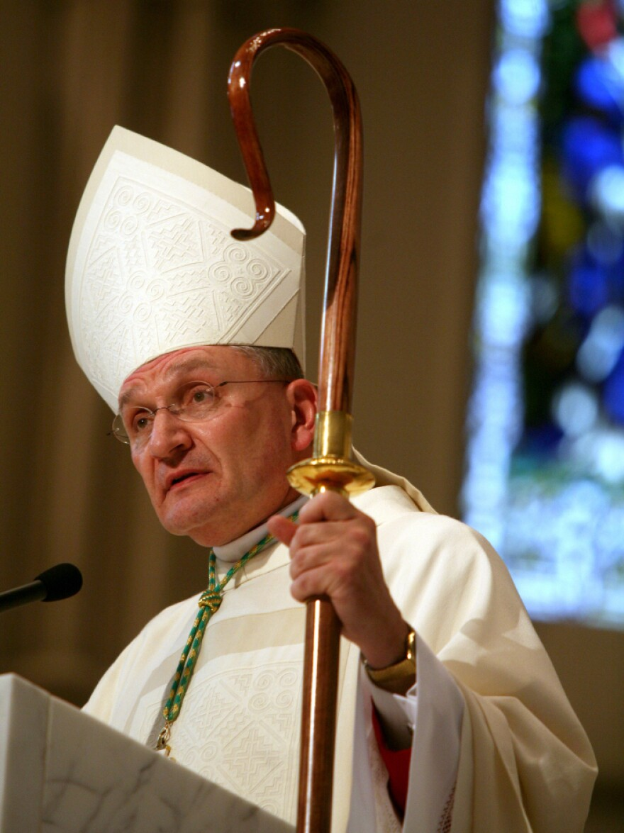 "In reaction to the recent contraceptive mandate, Bishop David Zubik of the Diocese of Pittsburgh <a href=""http://www.npr.org/2012/02/02/146265425/u-s-catholic-bishops-take-stand-against-birth-control-rules"">tells NPR's Barbara Bradley Hagerty</a>, ""We can't comply and we won't comply. There's no way we can. It's a matter of conscience."""