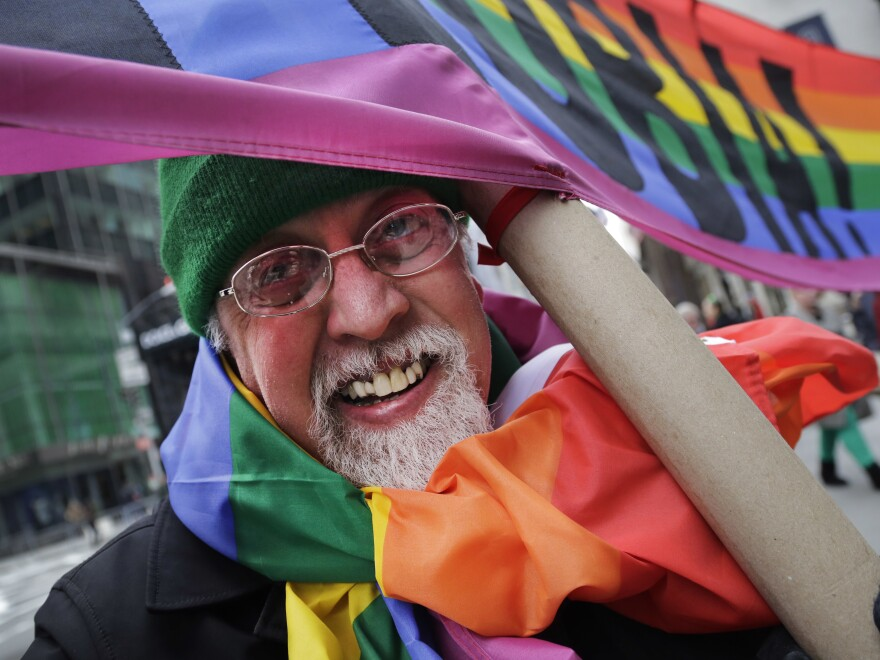 Gilbert Baker, designer of the rainbow flag — the enduring symbol of LGBT rights — has died at the age of 65.