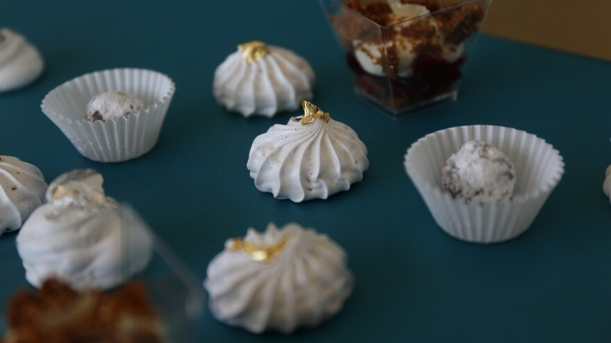 Pastries made by chef Aggie Chin.