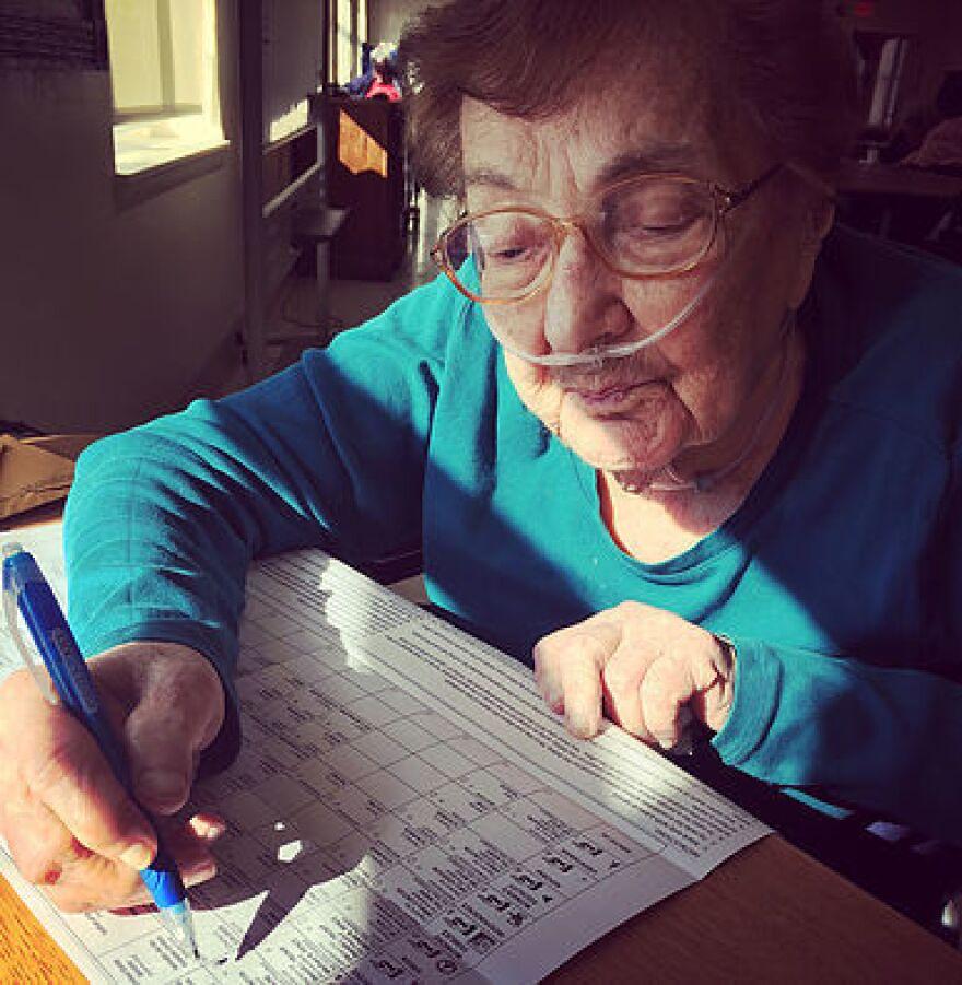 <strong>Sylvia Schulman, 99, Oceanside, N.Y.</strong>