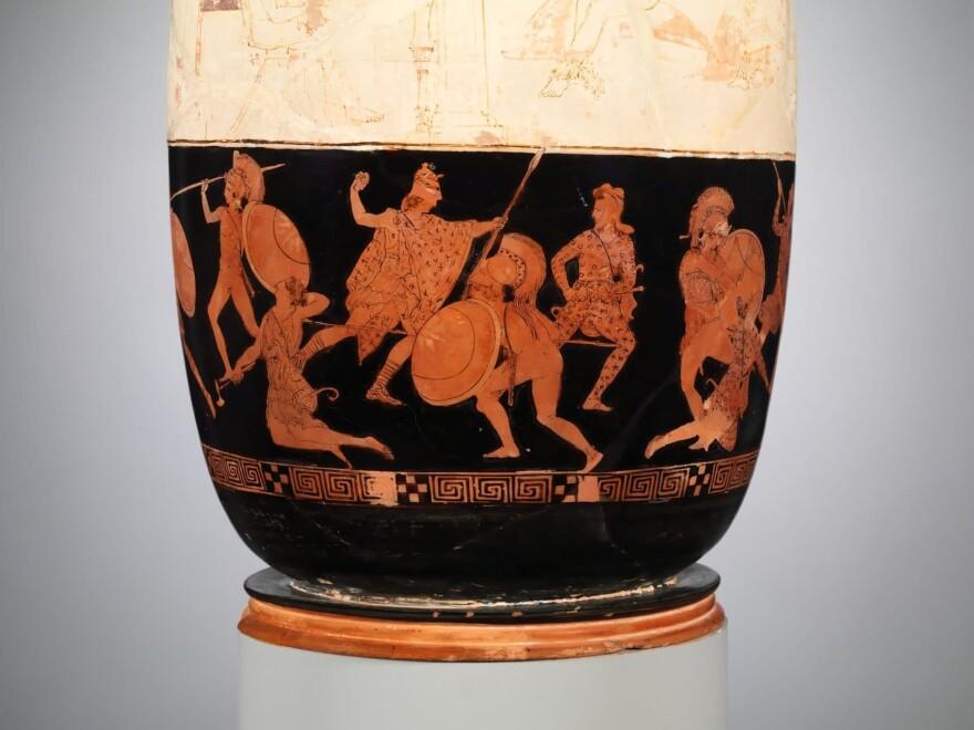 Battle of Greeks against Amazons (Metropolitan Museum of Art)