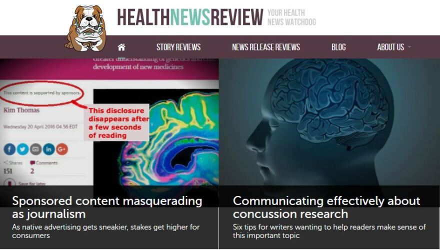 For 10 years, Health News Review has shined a light on hype and hidden conflicts of interest in stories from major newspapers and broadcasters.