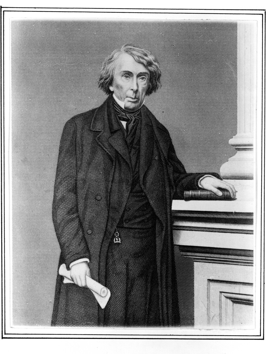 Statues of Chief Justice Roger B. Taney were removed in Baltimore and Annapolis, Md., this week.