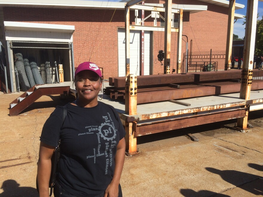 St. Louis resident Lisa Ramsay is taking part in the Building Union Diversity initiative, which seeks to bring minorities and women into the trades.