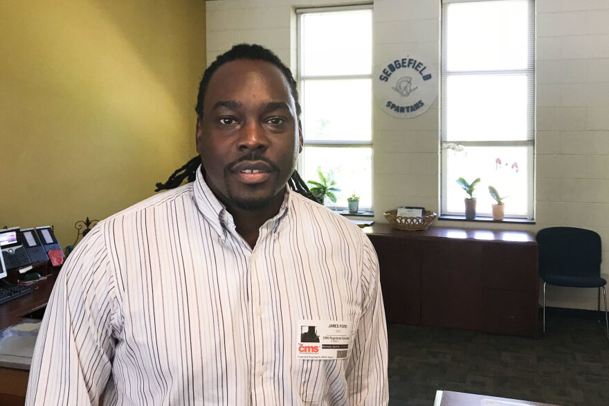 James E. Ford, a former North Carolina teacher of the year, is working with Sedgefield Middle School's administration to make the school more racially balanced.