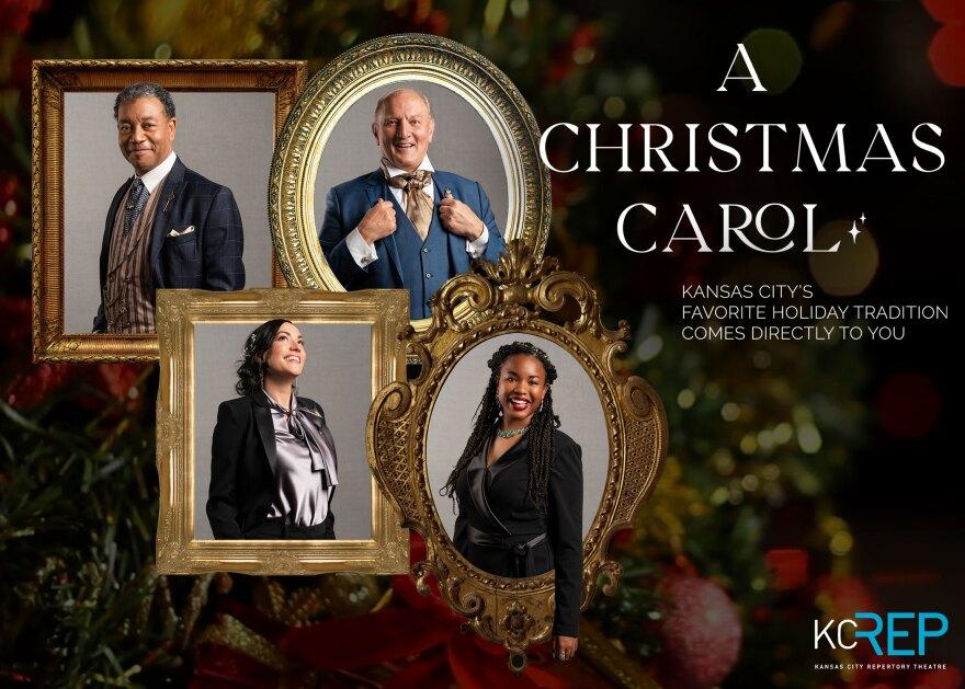A CHRISTMAS CAROL Actors Art (Landscape) • Photos by Don Ipock, Frames by kuschelirmel-stock.jpg