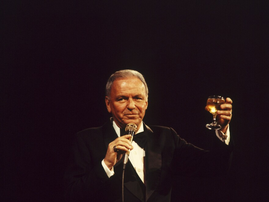 "Frank Sinatra onstage in the 1970s. Though the star was ambivalent at best about the song's message, ""My Way"" became emblematic of this era of his career."