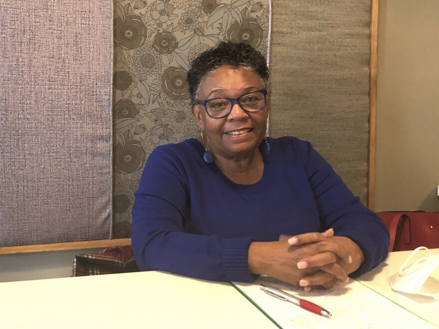 Lucenia Williams Dunn is a former mayor of Tuskegee and now runs a local community development organization. She still questions the rapid development of the vaccine and is not convinced to get it.