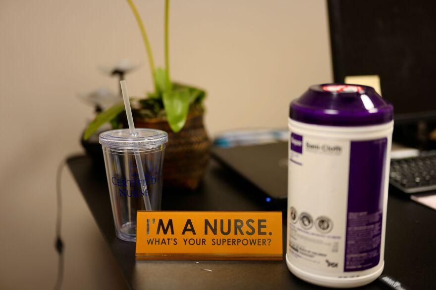 I'm a nurse placard