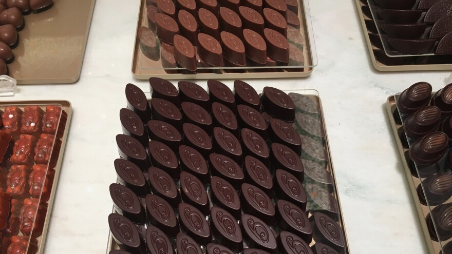 """What makes our chocolate unique, beyond its quality, is that our creations reflect Syria,"" Bassam Ghraoui said in a 2008 interview."
