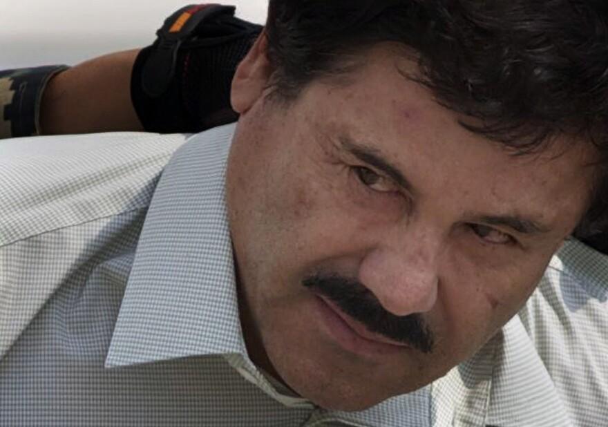 "Jury selection began Monday in the federal trial of Joaquín ""El Chapo"" Guzmán, shown here in 2014."