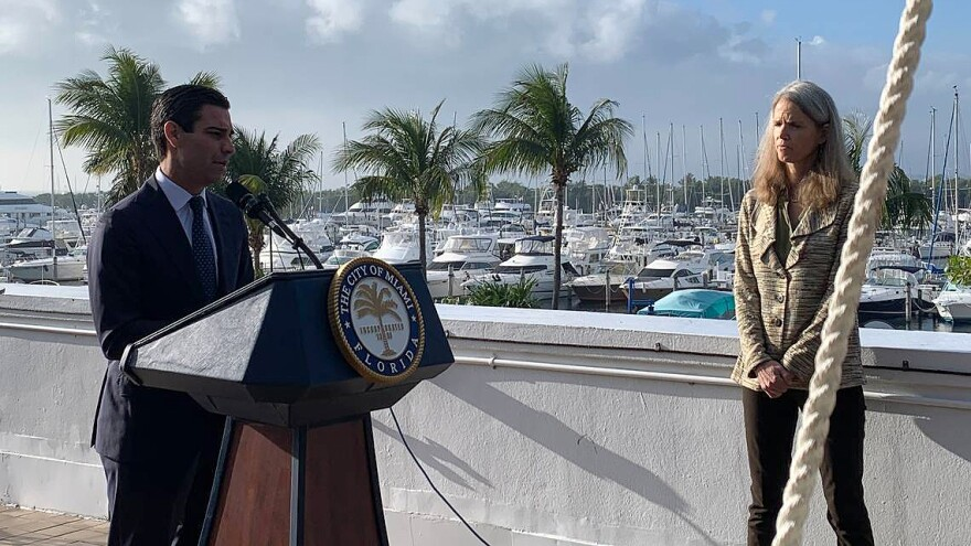 The Climate Ready plan also lays out all the city is already doing to adapt to climate change. ALEX HARRIS/MIAMI HERALD