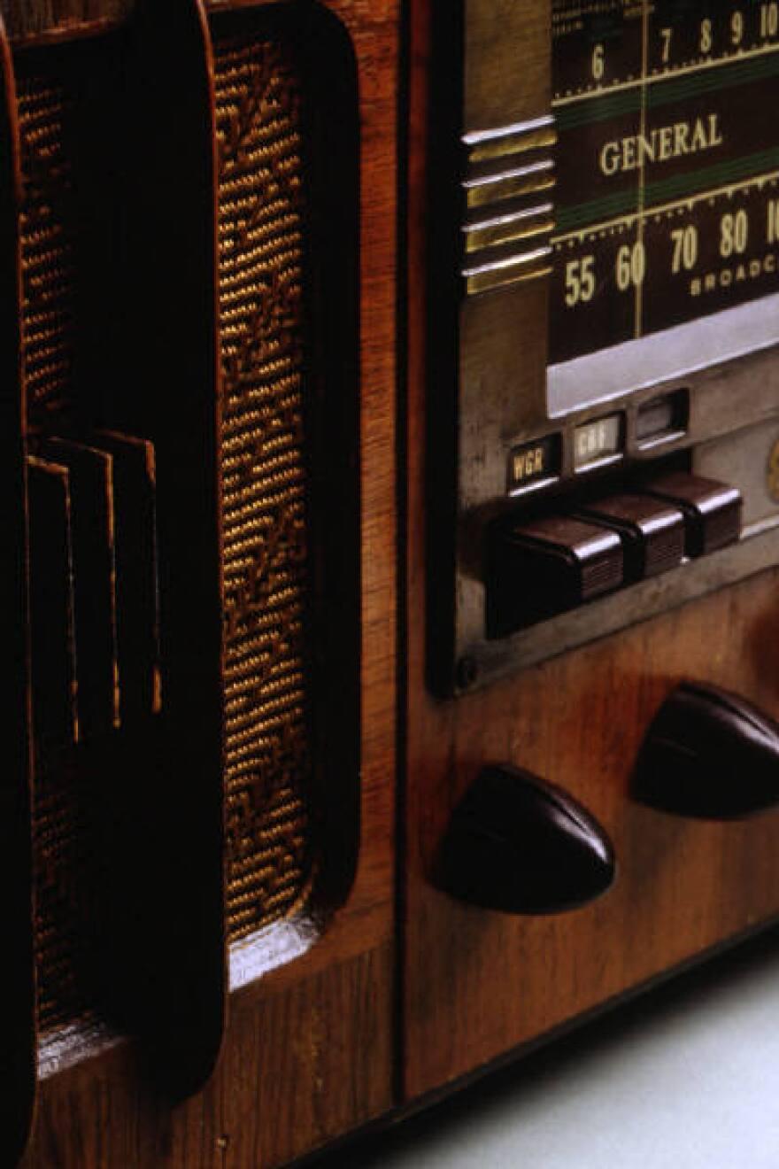 Picture of radio console