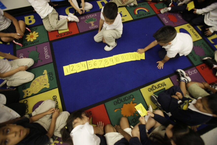 The Dallas Independent School District just earned a gold medal for its high-quality prekindergarten program.