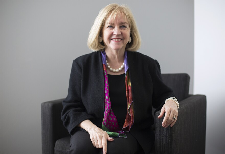 """St. Louis Mayor Lyda Krewson joined """"St. Louis on the Air"""" on Thursday, Jan. 17, 2018."""