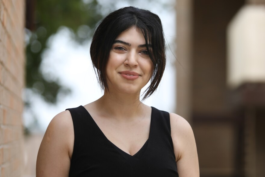 Ava Karimi is one of 50 students who will graduate from UT's Dell Medical School on May 21.