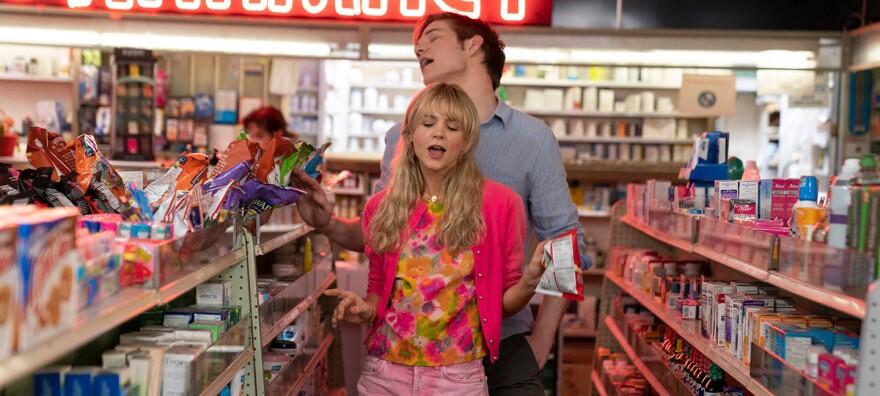Cassie (Carey Mulligan) is a woman bent on revenge — until she meets nice guy Ryan (Bo Burnham) in <em>Promising Young Woman</em><em>.</em>